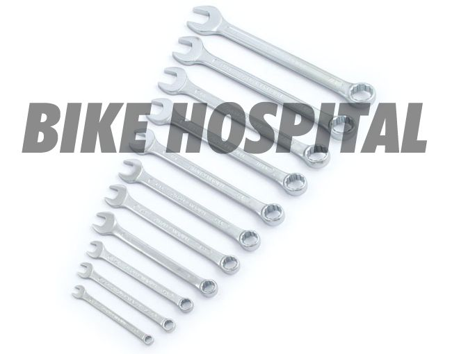 OPEN & BOX END WRENCH SET. USA SIZES