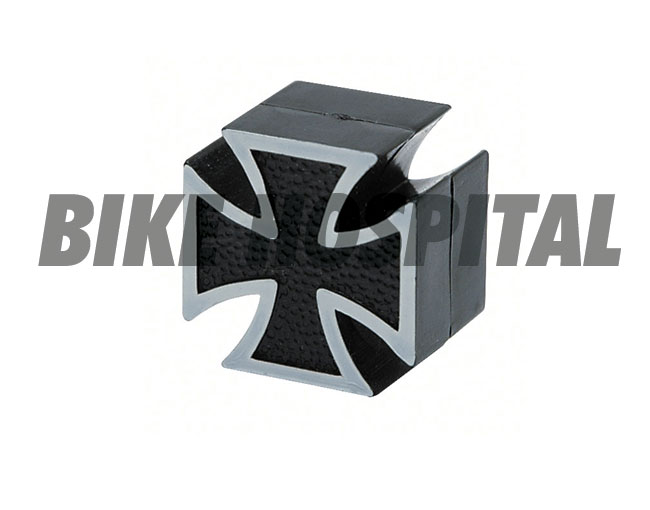 TRIK TOPZ, VALVE STEM CAPS MALTESE CROSS