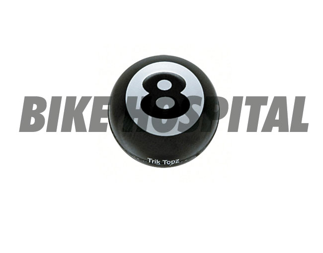TRIK TOPZ VALVE STEM CAPS EIGHT BALL (2)